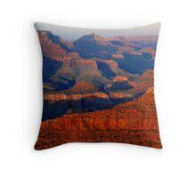 Mather Point Sunset, Grand Canyon Throw Pillow