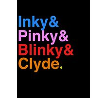 Inky Pinky Blinky Clyde Photographic Print
