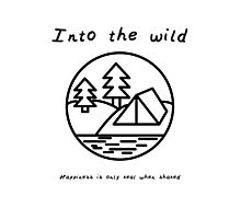 Into the wild Photographic Print