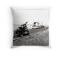 """Number of the Wheels"" Throw Pillow"