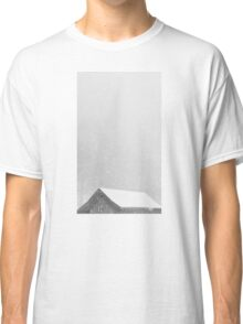Eaves in the snow Classic T-Shirt
