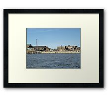 NWSW Steel Mill Framed Print