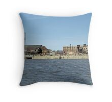 NWSW Steel Mill Throw Pillow