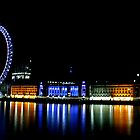 London Eye Landscape by Richard Leeson