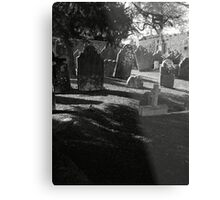 Death Casts It's Shadow Metal Print