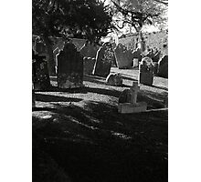 Death Casts It's Shadow Photographic Print