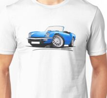 Triumph Spitfire (Mk4) Blue Unisex T-Shirt