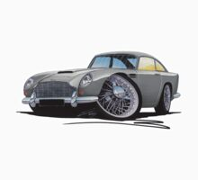 Aston Martin DB5 Grey by Richard Yeomans
