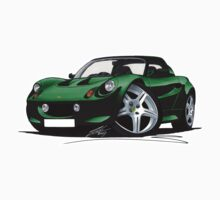 Lotus Elise S1 Green by Richard Yeomans