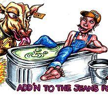 Add'n to the jeans pool... by Sam Dantone