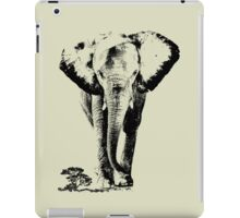 Elephant sahara iPad Case/Skin