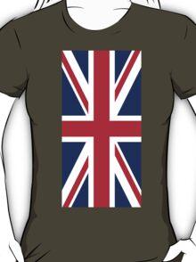 Flag of the United Kingdom Vertical T-Shirt