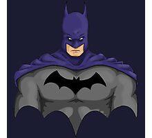 batman bust Photographic Print
