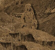 DEPLICTION OF...Jack Sparrow (Johnny Depp) from Pirates of the Caribbean sand sculpture ..PILLOW--TOTEBAG--PICTURE - PRINTS- POSTERS ECT.. by ✿✿ Bonita ✿✿ ђєℓℓσ