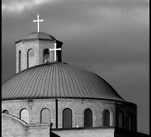 The Annunciation Greek Orthodox Cathedral, Columbus, OH by G. Patrick Colvin