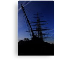 Cutty Sark Greenwich at Dawn Canvas Print