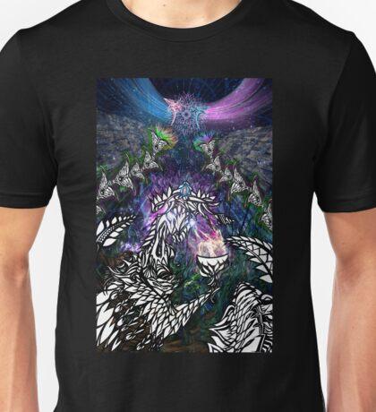 Manifest - Shamanic psychedelic artwork Unisex T-Shirt