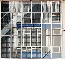 windows in windows by Annemie Hiele