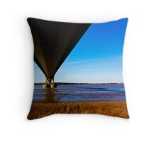 The Belly of the Bridge Throw Pillow