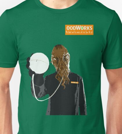 oodWorks - What can Ood do for you? Unisex T-Shirt