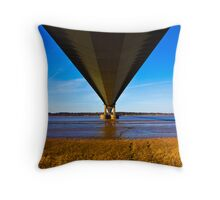 The Belly of the Bridge (2) Throw Pillow