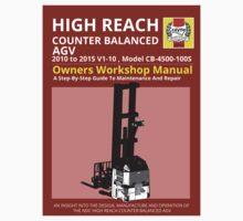 Workshop Manual - High Reach AGV BW Kids Tee