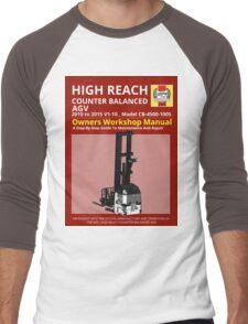 Workshop Manual - High Reach AGV BW Men's Baseball ¾ T-Shirt