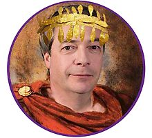 Emperor Nigel Farage by Frogpen