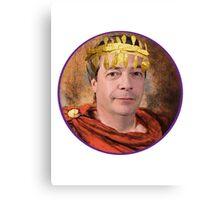 Emperor Nigel Farage Canvas Print