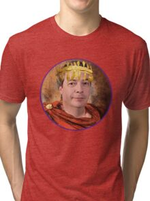 Emperor Nigel Farage Tri-blend T-Shirt