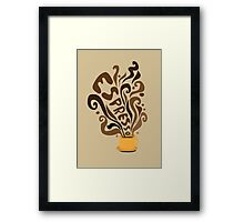 Espresso Framed Print