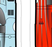Slot Cars II Sticker