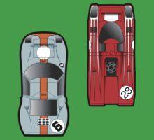 Slot Cars One Piece - Short Sleeve