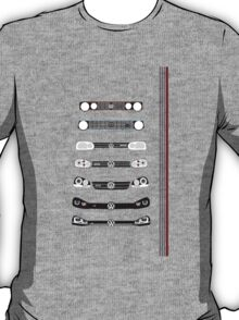 VW Golf stripes T-Shirt