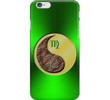 Virgo & Snake Yin Metal iPhone Case/Skin