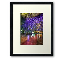 In the Atrium Framed Print
