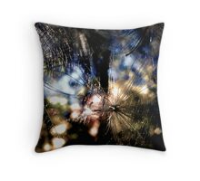 Wishy Weeds Throw Pillow