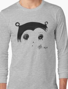 Hato and a Butterfly Long Sleeve T-Shirt