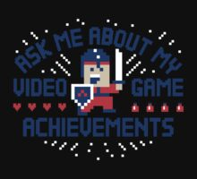 Video Game Achievements T-Shirt