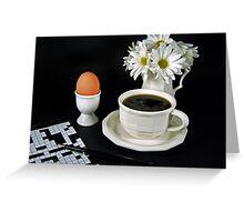 A Good Morning Greeting Card
