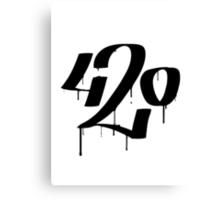 420 Canvas Print