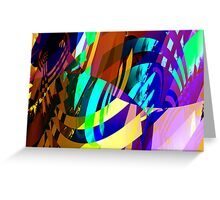 vampire colors Greeting Card