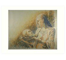 Salome 2 Art Print