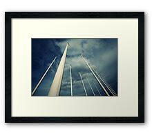 Poles, Apart Framed Print