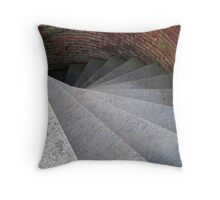 Granite Steps Throw Pillow