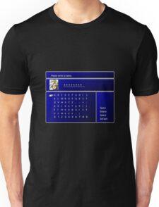 Enter name Unisex T-Shirt