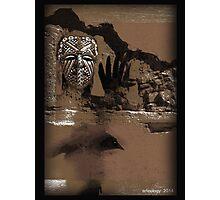 raven shaman Photographic Print