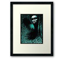 tree shaman Framed Print