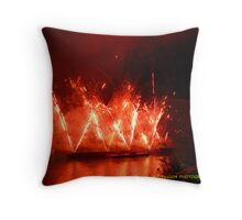 Skyblast third strike VII Throw Pillow