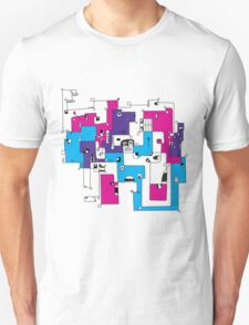 Faces From Every Angle T-Shirt